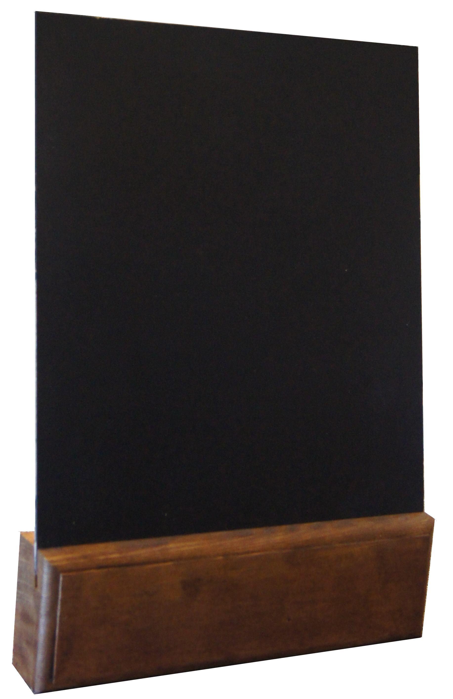 Tabliczka w kolorze ciemnego drewna